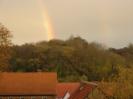 Regenbogen zur Kirmes